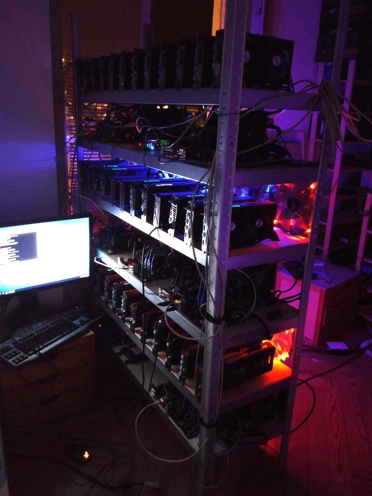 Comment construire son (Gros) rig de minage Ethereum, Zcash, Monero, cybermonnaie