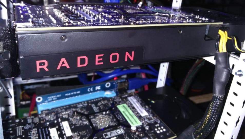 AMD radeon RX 480 mining ethereum test