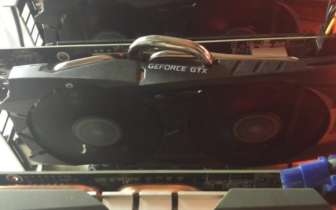 Test de minage Nvidia KFA2- GeForce GTX 1060 OC 6Go DDR5