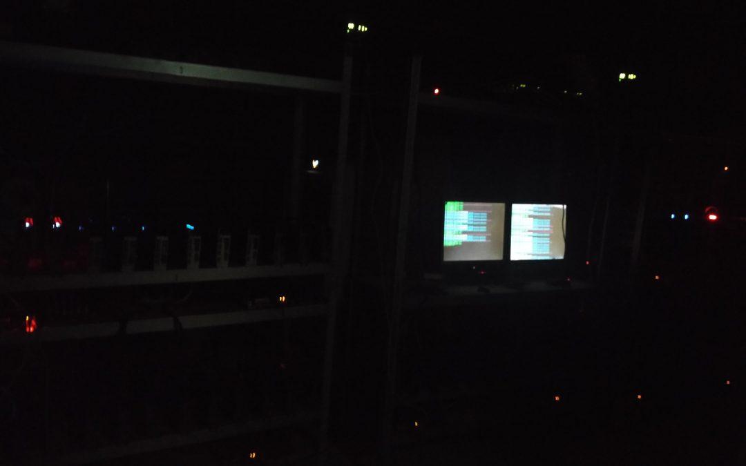Reconstruction d'une cybermine à 60 GPU
